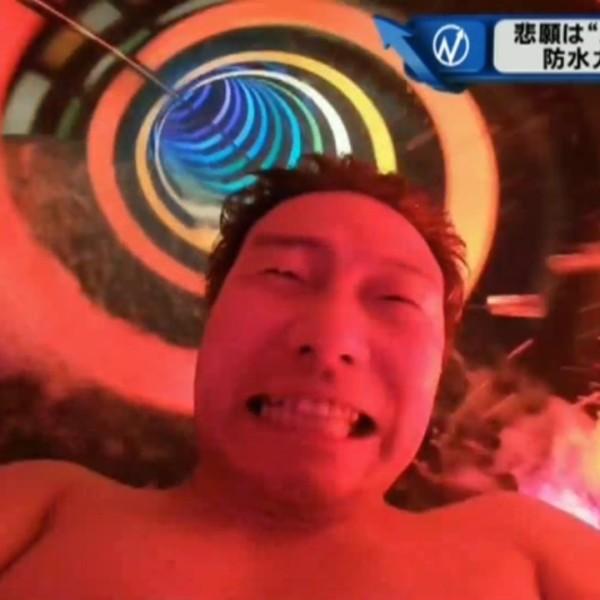 """悲願は""""カツラでプール"""" 防水カツラで挑戦!"""